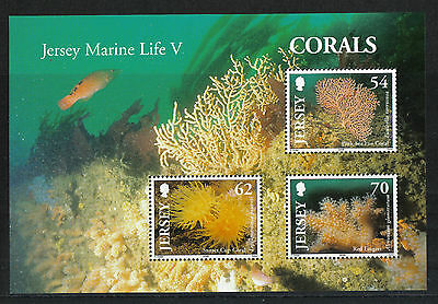Jersey 2004 Local Corals ss--Attractive Marine Life Topical (1143a) MNH