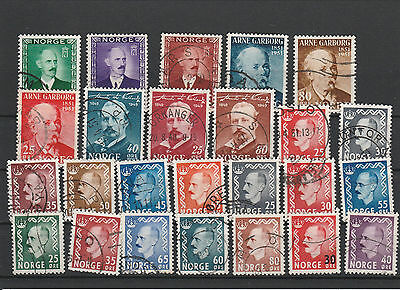 Norway Norge canceled Postage stamps Los Right 2722