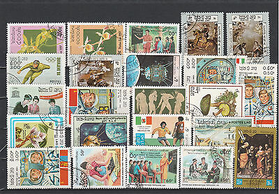 Laos older Postage stamps Los Right 3611