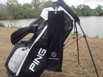 MERCEDES-BENZ - HEAVY WEIGHT DELUXE VELOUR GOLF TOWEL SAVE ££'s