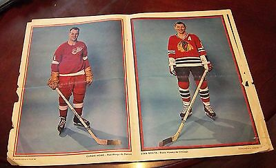Perspectives Magazine All Star Issue July 16  1966 Bobby Hull /Gordie Howe