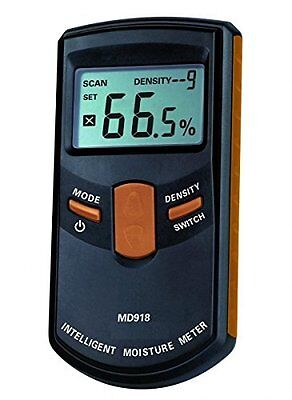 Inductive Pinless Digital Moisture Meter For Wood with Range 4% - 80% RH
