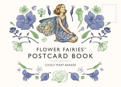 Flower Fairies Postcard Book by Cicely Mary Barker (English) Paperback Book Free