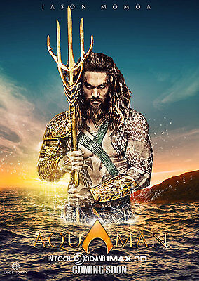 Aquaman Movie Poster Style A  13x19