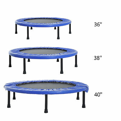 """36""""  38"""" 40"""" Mini Trampoline Safety Fitness Mini Gym Exercise Kid Indoor Outdoor"""