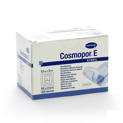 Cosmopor E Sterile First Aid Absorbent Adhesive Wound Dressing | Various Size