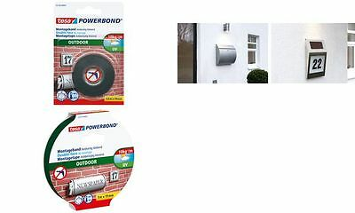 tesa Powerbond Montageband OUTDOOR, 19 mm x 5,0 m