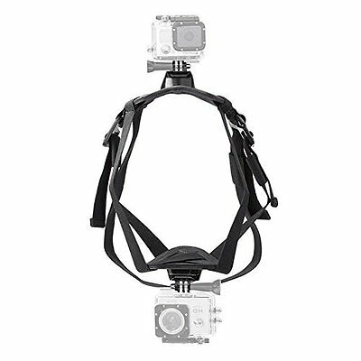 Neewer Adjustable Fetch Dog Harness Mount Chest Strap for GoPro