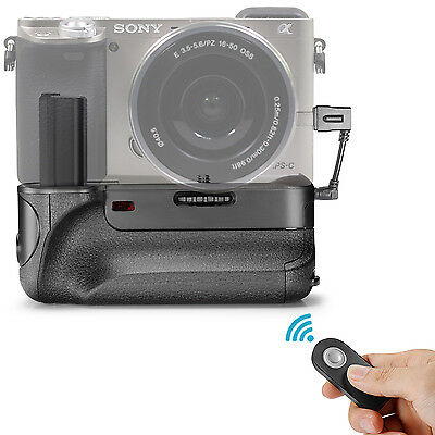 Neewer Pro Vertical Infrared Remote Control BG-3DIR Battery Grip for Sony A6000