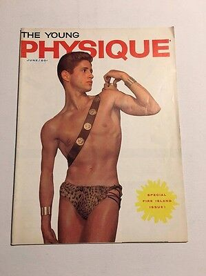 Vintage gay magazine THE YOUNG PHYSIQUE 1960