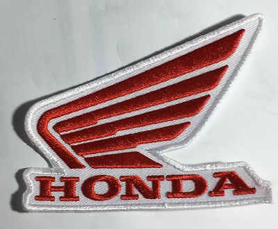 Red Wing Motorcycles  embroidered cloth patch.  B010402