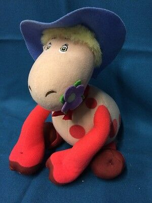 The Magic Roundabout- Ermentrude- Plush Toy Speaks When You Squeeze Her