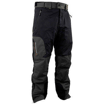 NEW Savage Gear Black Savage Grey Fishing Trousers  - Large - 50815