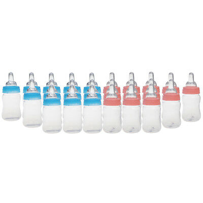 24 x Fillable Bottles Baby Shower Christening Favors Party Decors