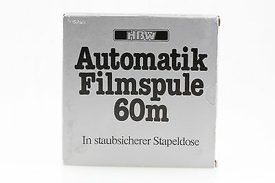 HBW Automatic 8mm Filmrolle Leerrolle Leerspule Super Single 8 60m Film -NEU OVP