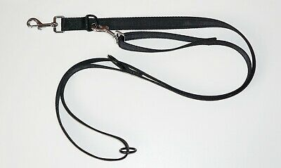K9Co® Alpha 1 - Police Style Dog Training Lead - Double Ended - Medium/large