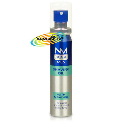 Nuage Men Shaving Oil With Menthol 25ml