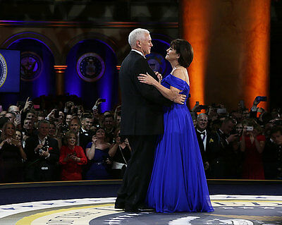 Vice President Mike Pence and Second Lady Karen 11x14 Silver Halide Photo Print
