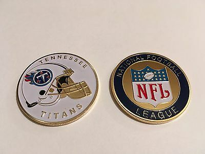 Nfl Tennessee Titans Sport American Football Collectable Challenge Coin New