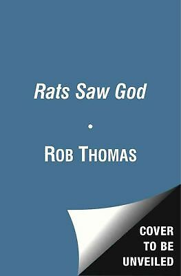 Rats Saw God by Rob Thomas (English) Hardcover Book Free Shipping!