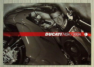 DUCATI 749R/999R Motorcycle Sales Brochure 2004 #917.1.133.1A