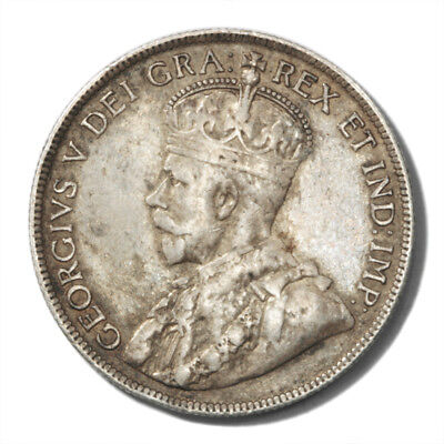 Canada Newfoundland King George V 50 Cents 1917  Very Fine KM-12
