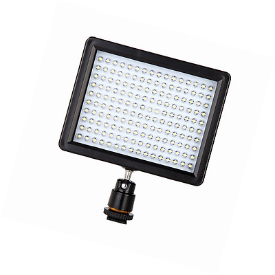 Andoer 160 LED Video Light Lamp Panel 12W 1280LM Dimmable for Canon Nikon Pentax
