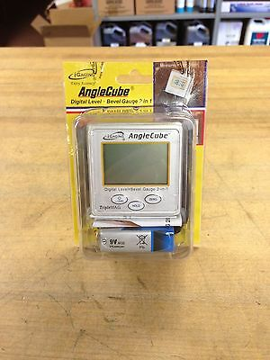 Angle Cube Digital Level & Protractor 2-In-1, New With Case!