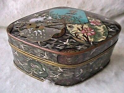 Vintage Japanese Gilded FOUR PIECE MUSEUM QUALITY CLOISONNE BOX