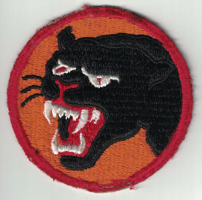 WWII US Army 66th Infantry Division Patch 2nd Design Black Panther