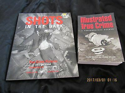Lot 2-Crime Photography Books-Illustrated True Crime-Shots in the Dark-Buckland