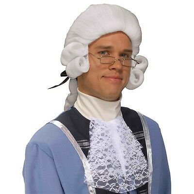 Colonial Man Wig Costume Accessory Adult Halloween