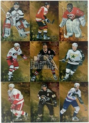 1998-99 Be A Player Hockey Series 2 Gold Parallel Base Set (151-300)