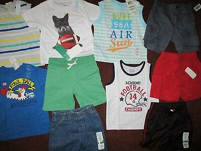 NWT'S Boys Size 18 Months Summer Lot of  CLOTHES & OUTFITS  TCP Impressions