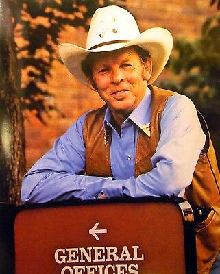 CHARLIE LOUVIN Brothers country clipping '80s color photo Grand Ole Opry 8 x 10