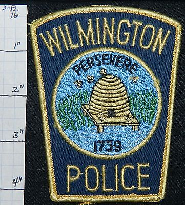North Carolina, Wilmington Police Dept Patch