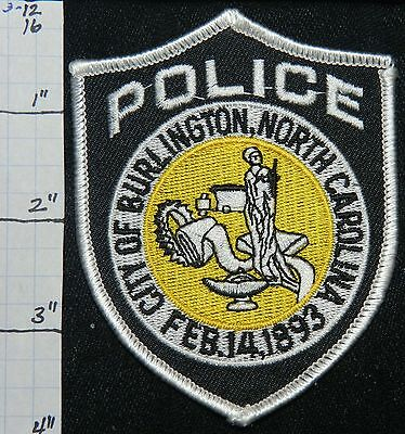 North Carolina, Burlington Police Dept Patch