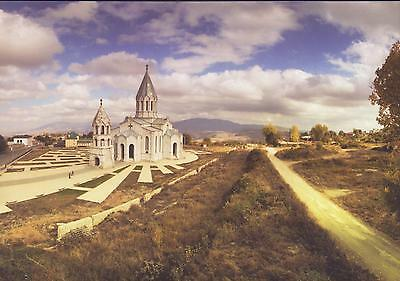 Nagorno Karabakh Armenia Air Mail Card To Your Address Shushi Church R17427