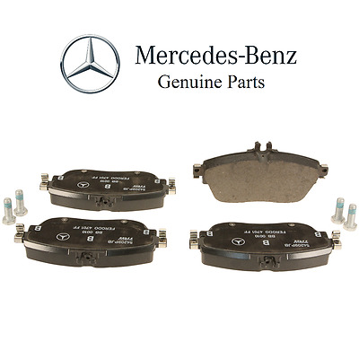 Front /& Rear Brembo Brake Ceramic Pads Sensor Kit for Mercedes X156 X117 CLA GLA