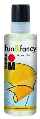 Marabu Window Color fun & fancy Fenstermalfarbe 80ml 270 Perlmutt abziehbar