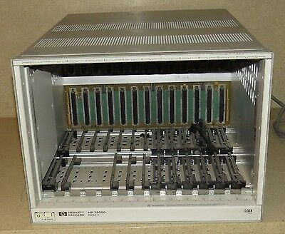 HP E1400B C-Size 12 Slot VXI Mainframe Hewlett Packard 75000 Series C