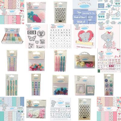 CLEARANCE! Tiny Tatty Teddy Baby PaperCraft Collection - Me To You Range!