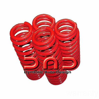 4 New Dropzone lowering springs for BMW 3 Series E90 E92 328i 335i 07-11
