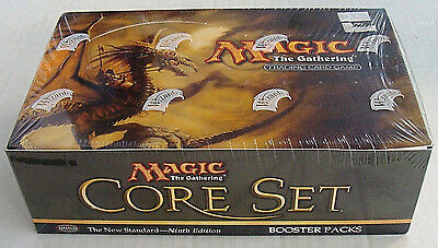 MTG 9th Edition Core Booster Box WOTC Magic the Gathering New 2005 Amricons