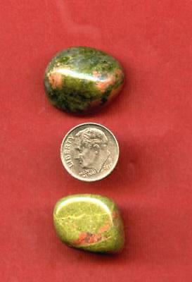 Unakite Tumbled Gemstones Lot #4