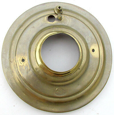 19th CENTURY ANTIQUE RUSSIAN BRASS LID FOR SAMOVAR