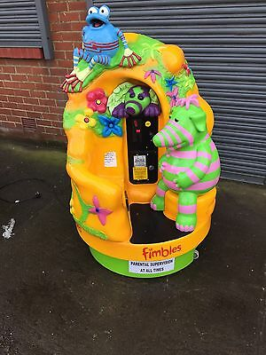 Fimbles Carousel Childrens Kiddie Ride Machine Coin Operated - Kids - Kiddy