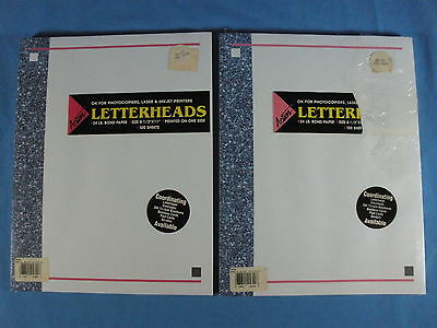 """Four (4) Packages Of ACTION Papers 8 1/2"""" x 11"""" Letterhead - 24# Bond - 375+"""