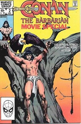 Conan The Barbarian Movie Adaptation Comic Book #2, Marvel 1982 NEAR MINT UNREAD