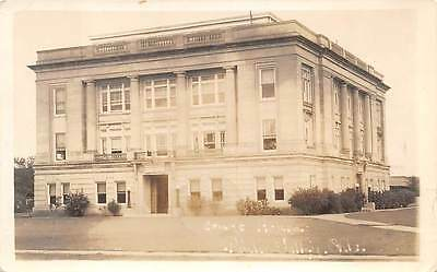 PAULS VALLEY, GARVIN COUNTY, OK, COURT HOUSE, REAL PHOTO PC ~ used 1938